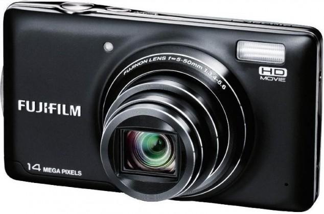 Digitálny kompakt FUJIFILM FinePix T350 Black + ZADARMO 4GB pamäťová karta