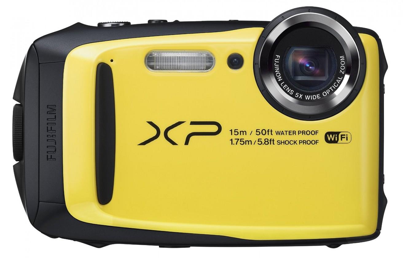 Digitálny kompakt Fujifilm FinePix XP90, yellow