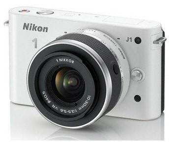 Digitálny kompakt  Nikon 1 J1 + 10-30 VR White