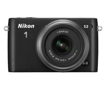 Digitálny kompakt Nikon 1 S2 DB Zoom Kit BK + CB-N2210SA