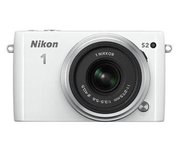 Digitálny kompakt Nikon 1 S2 DB Zoom Kit WH + CB-N2210SA