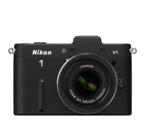 Digitálny kompakt  Nikon 1 V1 + 10-30 VR Black
