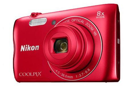 Digitálny kompakt NIKON COOLPIX A300 RED