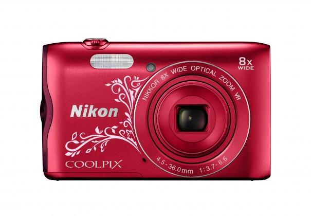 Digitálny kompakt NIKON COOLPIX A300 RED LINEART