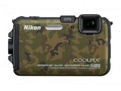 Digitálny kompakt  Nikon Coolpix AW100 Camouflage