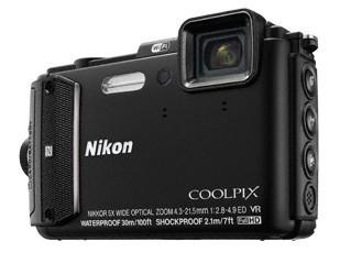 Digitálny kompakt Nikon COOLPIX AW130 black diving kit