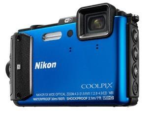 Digitálny kompakt Nikon COOLPIX AW130 blue ROZBALENÉ