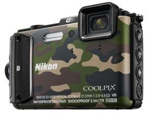 Digitálny kompakt Nikon COOLPIX AW130 camouflage outdoor kit