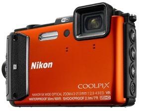 Digitálny kompakt Nikon COOLPIX AW130 orange diving kit