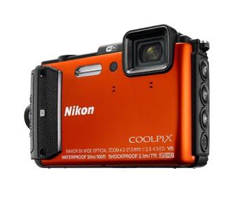 Digitálny kompakt Nikon COOLPIX AW130 orange outdoor kit