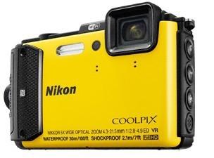 Digitálny kompakt Nikon COOLPIX AW130 yellow