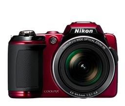 Digitálny kompakt  Nikon Coolpix L120 Red