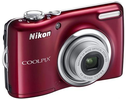 Digitálny kompakt  Nikon Coolpix L23 Red