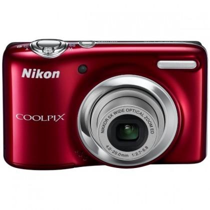 Digitálny kompakt  Nikon Coolpix L25 Red