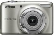 Digitálny kompakt  Nikon Coolpix L25 Silver BAZAR