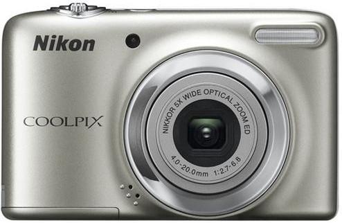 Digitálny kompakt  Nikon Coolpix L25 Silver