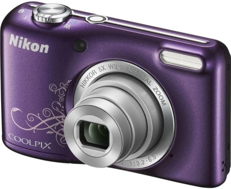 Digitálny kompakt  Nikon Coolpix L27 Purple LineArt