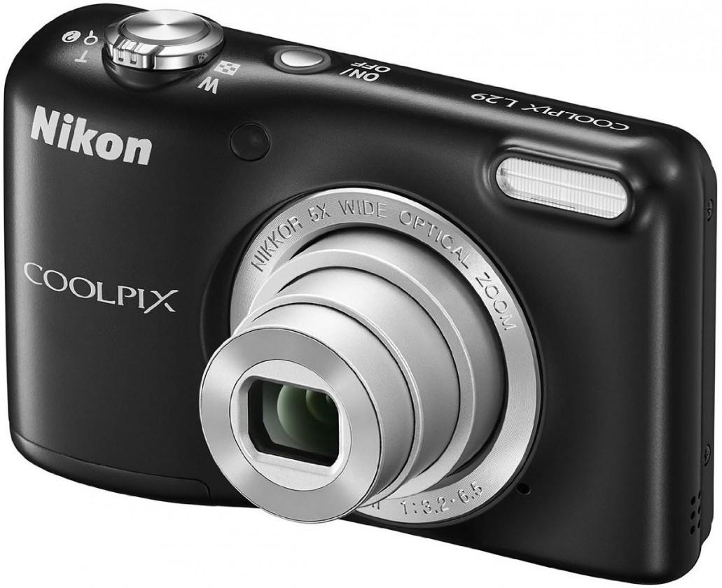Digitálny kompakt Nikon Coolpix L29 Black