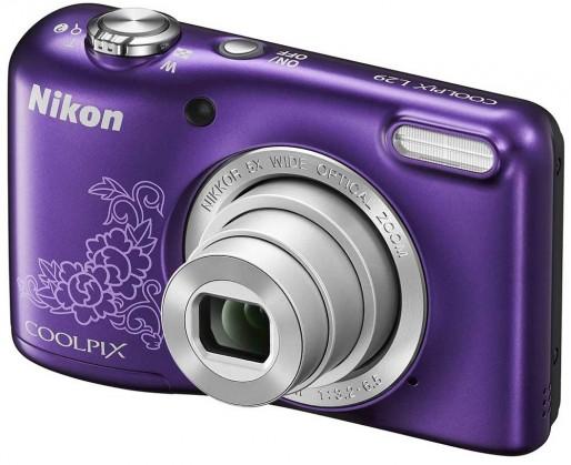 Digitálny kompakt Nikon Coolpix L29 Purple Lineart