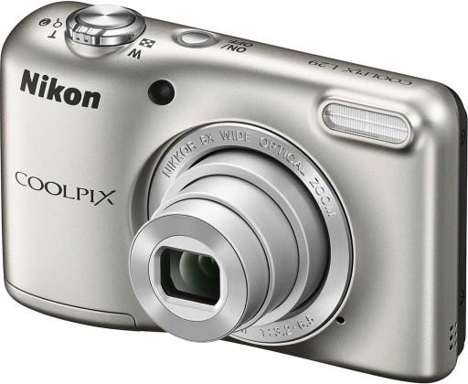 Digitálny kompakt Nikon Coolpix L29 Silver