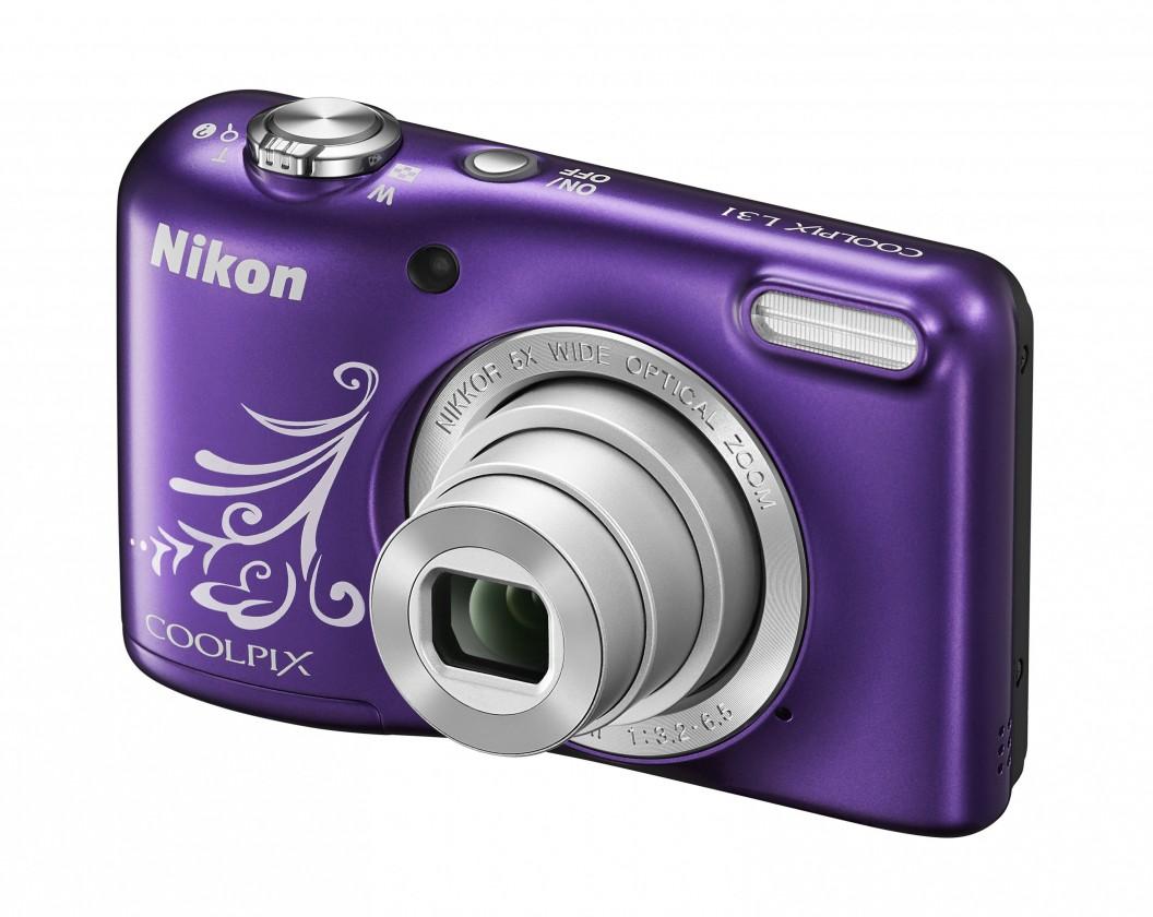 Digitálny kompakt Nikon COOLPIX L31 purple