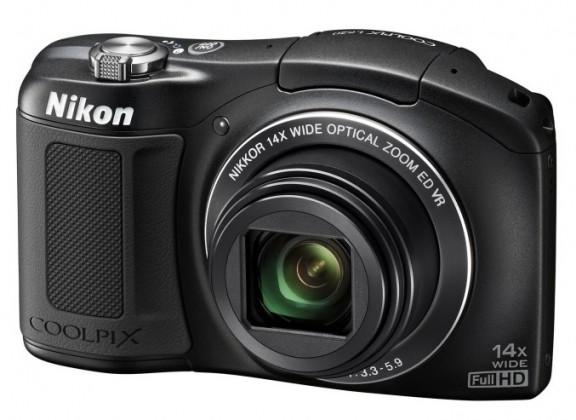 Digitálny kompakt  Nikon Coolpix L620  Black