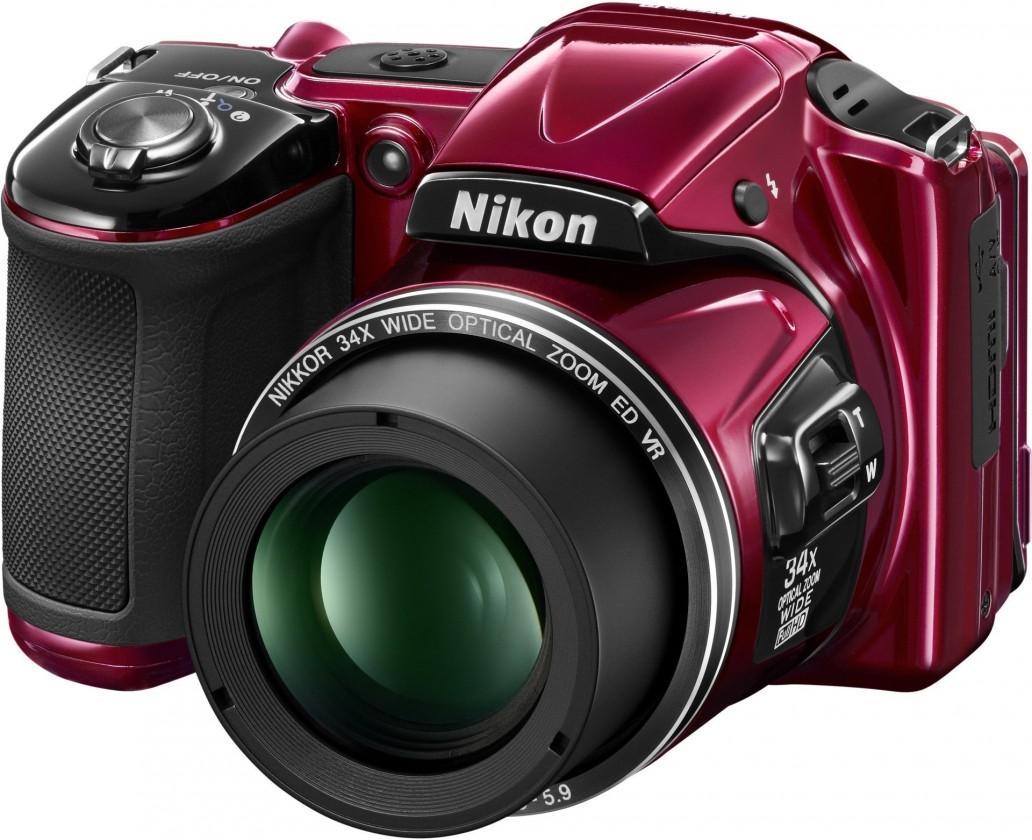 Digitálny kompakt Nikon Coolpix L830 Red
