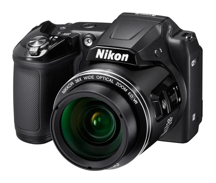 Digitálny kompakt NIKON COOLPIX L840 - 16 MP, 38x zoom VR - Black + case