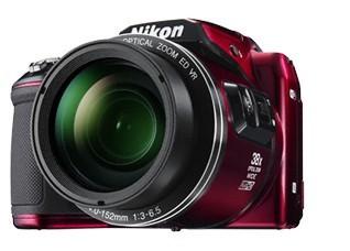 Digitálny kompakt NIKON COOLPIX L840 - 16 MP, 38x zoom VR - Red + case