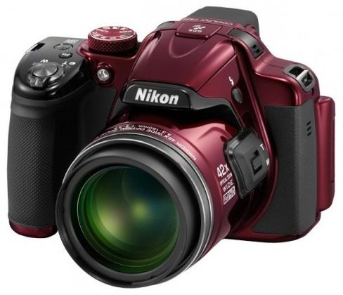 Digitálny kompakt  Nikon Coolpix P520 Red