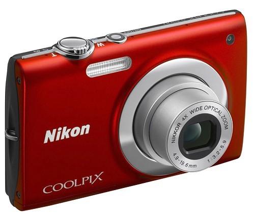 Digitálny kompakt  Nikon Coolpix S2500 Red