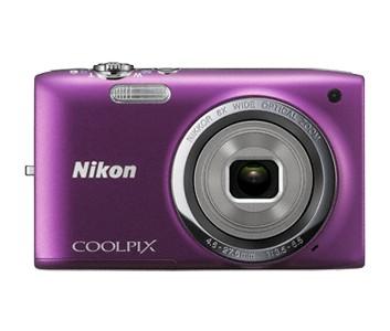 Digitálny kompakt  NIKON COOLPIX S2700 - 16 MP, 6x zoom - Purple