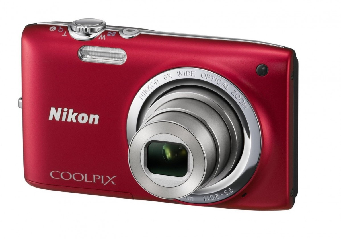 Digitálny kompakt  Nikon Coolpix S2700 Red