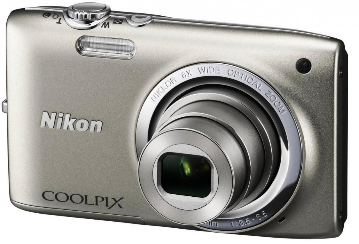 Digitálny kompakt  Nikon Coolpix S2700 Silver