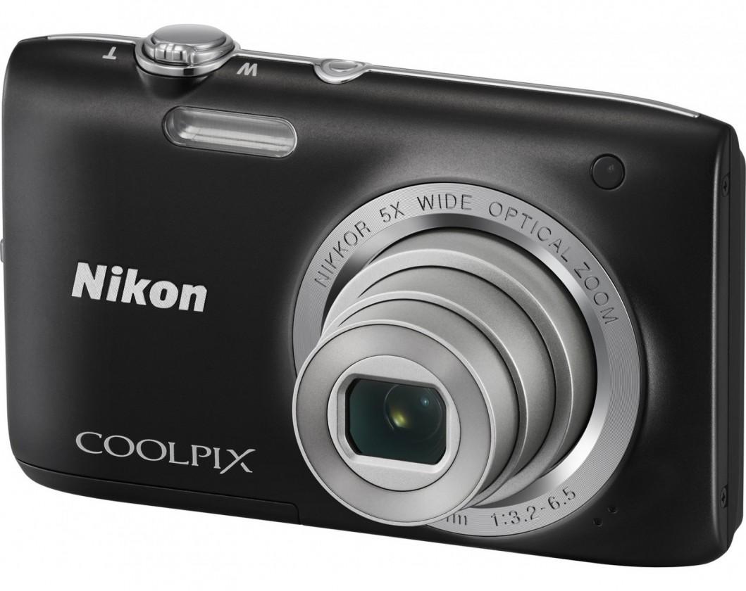 Digitálny kompakt Nikon Coolpix S2800 Black