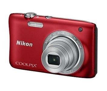 Digitálny kompakt NIKON COOLPIX S2900 - 20,1 MP, 5x zoom - Red
