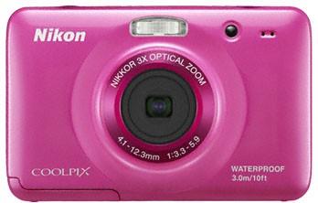 Digitálny kompakt  Nikon Coolpix S30 Pink