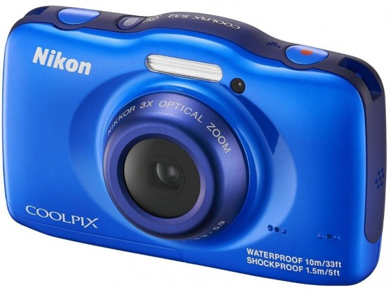 Digitálny kompakt  Nikon Coolpix S32 Blue
