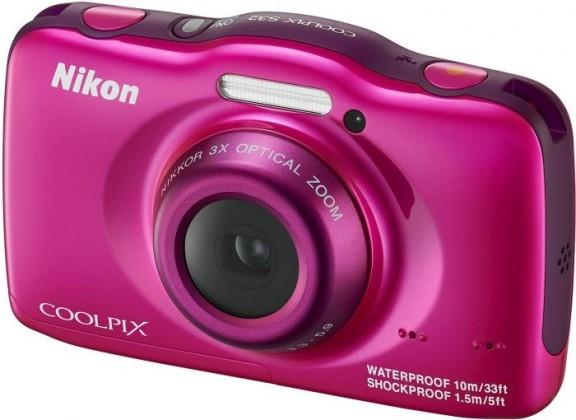 Digitálny kompakt  Nikon Coolpix S32 Pink