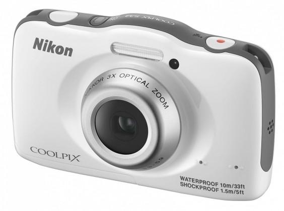 Digitálny kompakt  Nikon Coolpix S32 White