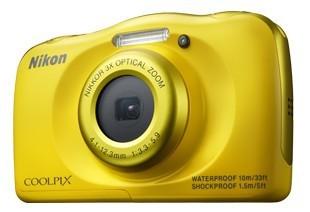 Digitálny kompakt Nikon COOLPIX S33 yellow backpack kit