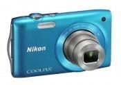Digitálny kompakt Nikon Coolpix S3300 Blue ROZBALENO