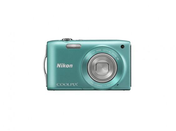 Digitálny kompakt  Nikon Coolpix S3300 Green