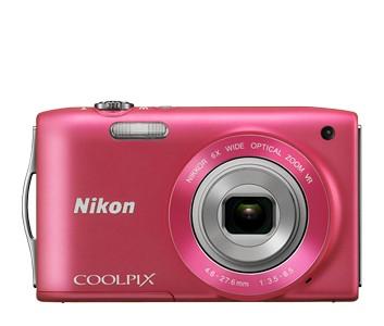 Digitálny kompakt  Nikon Coolpix S3300 Pink
