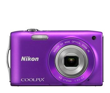 Digitálny kompakt  Nikon Coolpix S3300 Purple