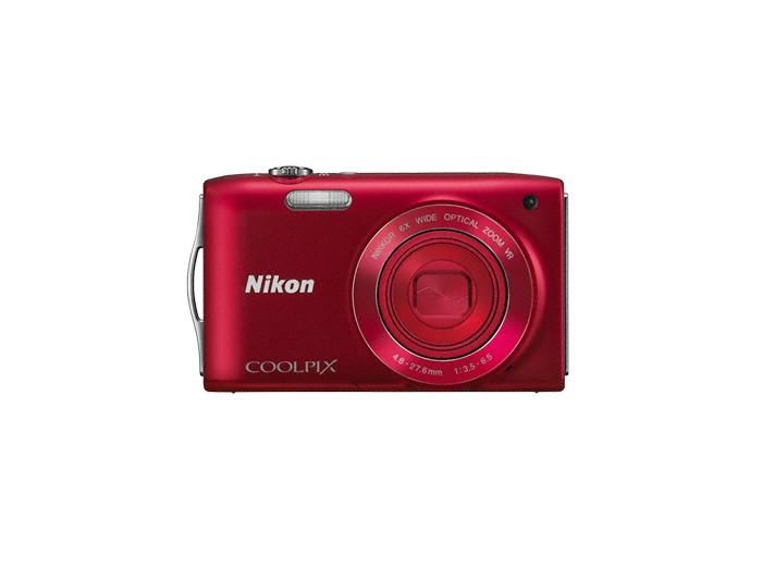 Digitálny kompakt  Nikon Coolpix S3300 Red