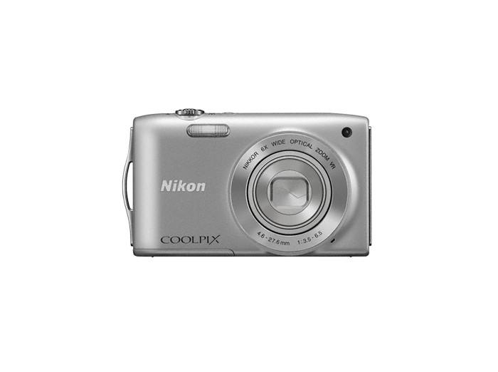 Digitálny kompakt  Nikon Coolpix S3300 Silver