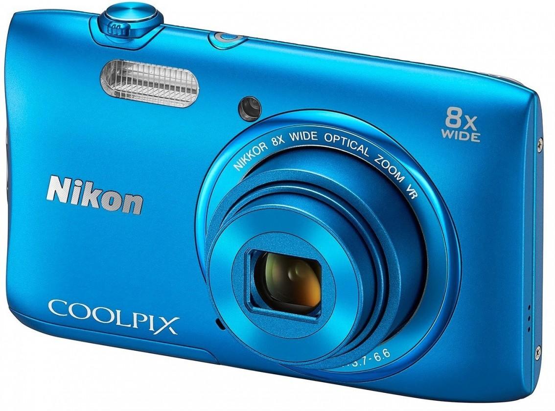 Digitálny kompakt Nikon Coolpix S3600 Blue