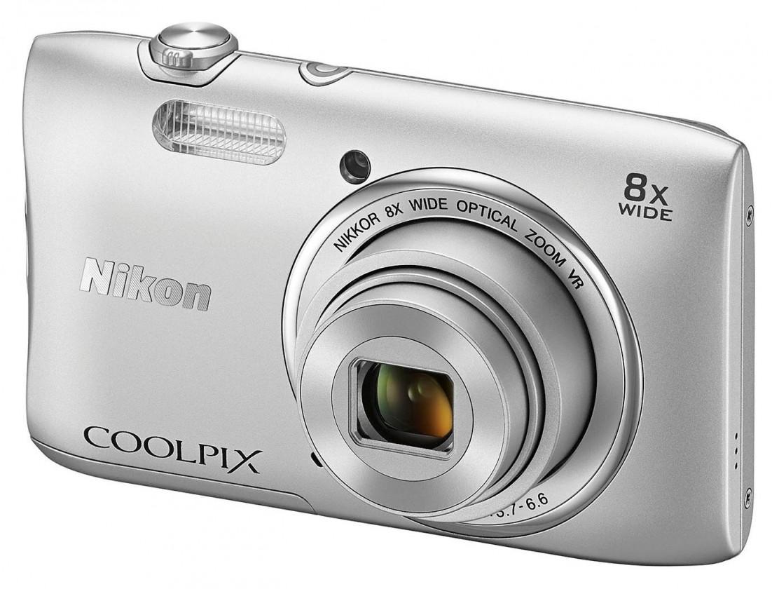 Digitálny kompakt Nikon Coolpix S3600 Silver