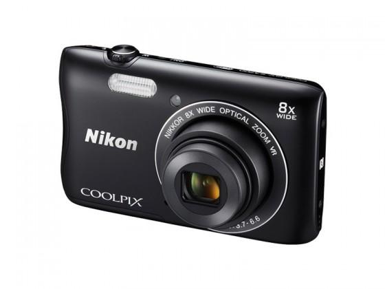 Digitálny kompakt Nikon COOLPIX S3700 black